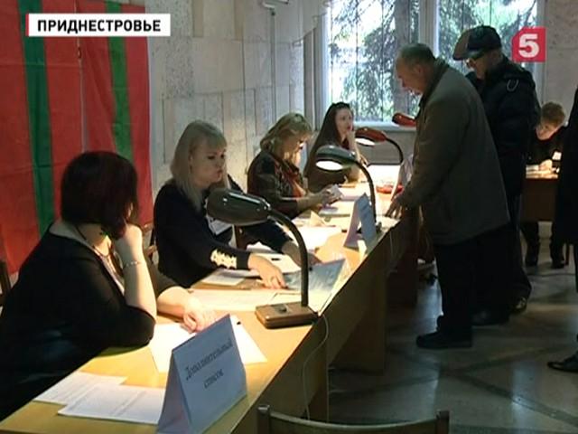 Выборы в приднестровье 2016 результаты