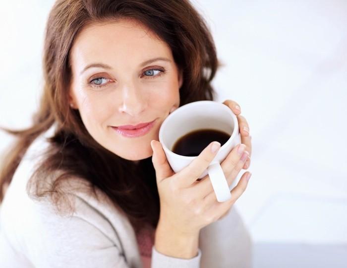 Надписи, картинки женщина и кофе