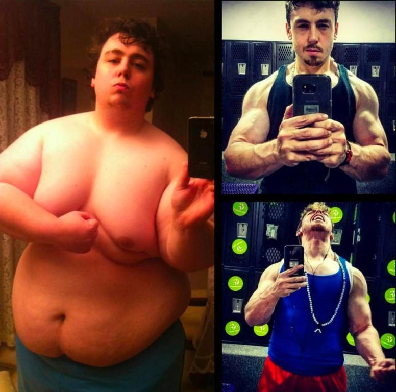 Мужики я похудел так