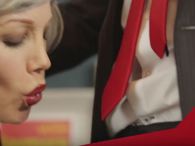 Порно фильм с пародией на ментов осмотрит надрочит видео