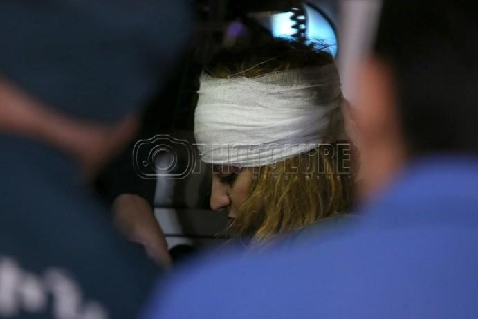 Мед. работники оперируют пострадавшую при взрыве вЕреване восьмилетнюю девочку