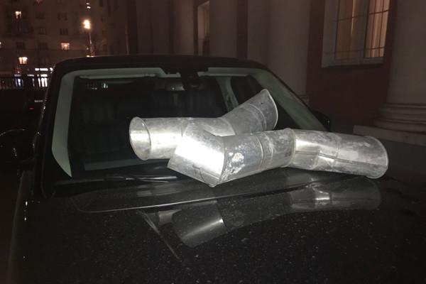 Тимур Батрутдинов пострадал отрук правонарушителей, которые изуродовали его дорогой автомобиль