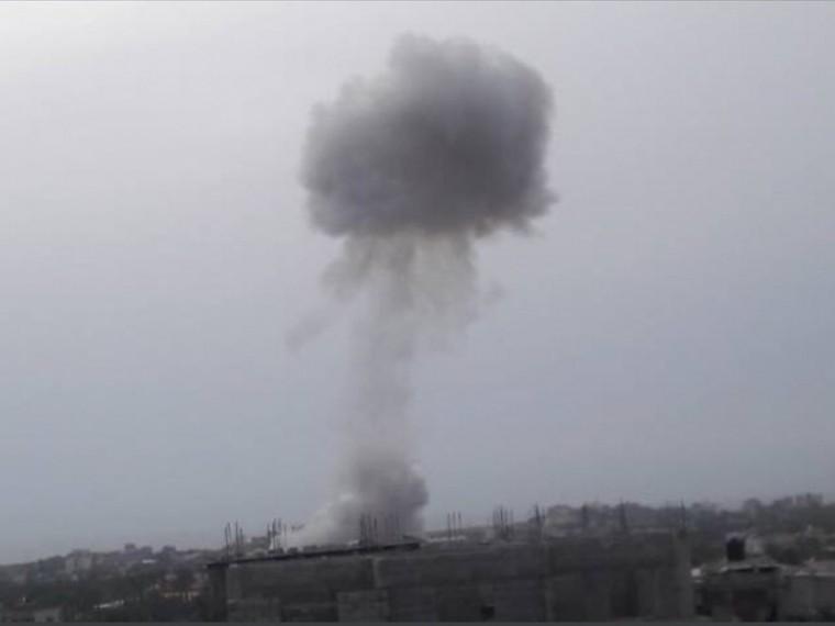 Привзрыве впалестинском секторе Газа погибли пятерочеловек
