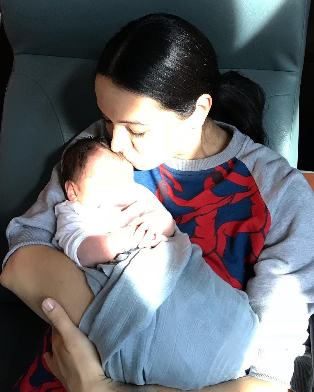 41-летняя прима-балерина Мариинки Диана Вишнева родила сына