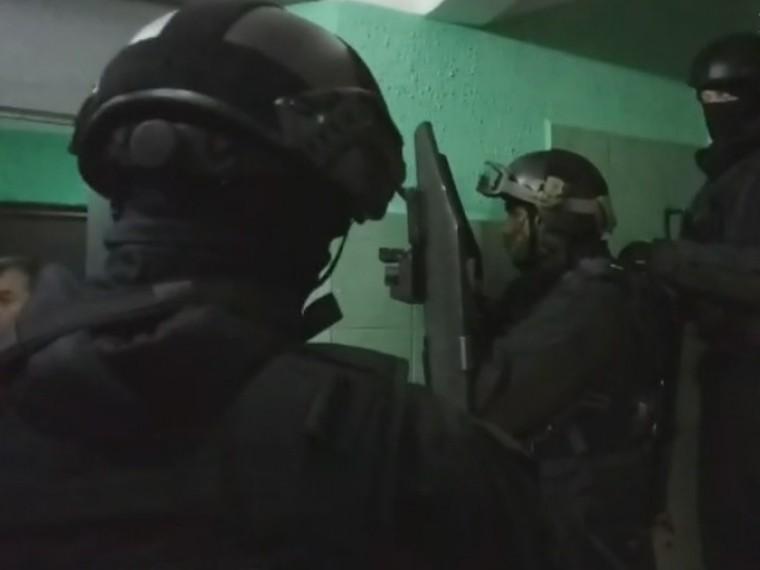 Опубликовано видео изквартиры, где были захвачены заложники вМоскве