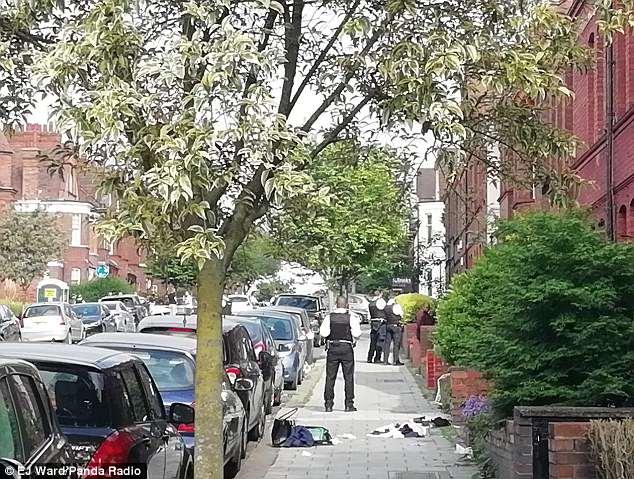 Нападение на школьников в Лондоне