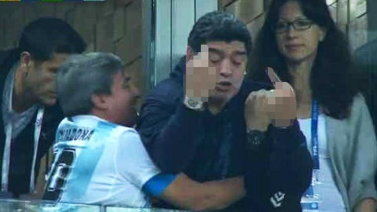 Диего Марадона на ЧМ-2018