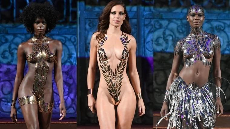 Показ мод в бикини видео онлайн