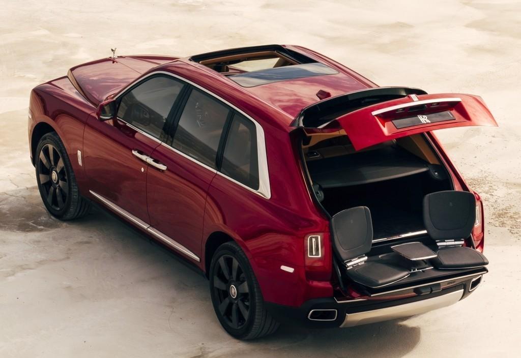 пикник у Rolls-Royce Cullinan