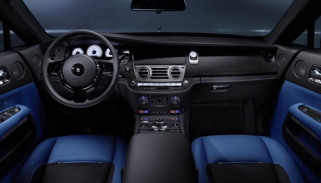 Салон Rolls-Royce Wraith Black Badge