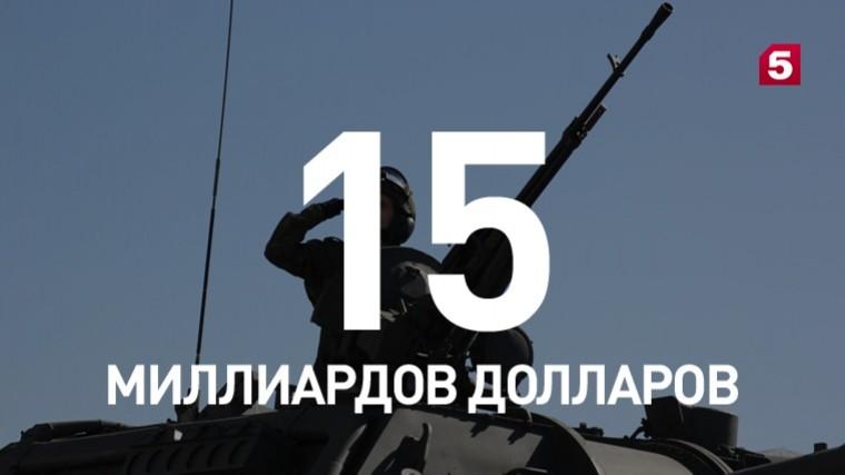 Поитогам 2017 года Россия— один изкрупнейших экспортеров вооружения