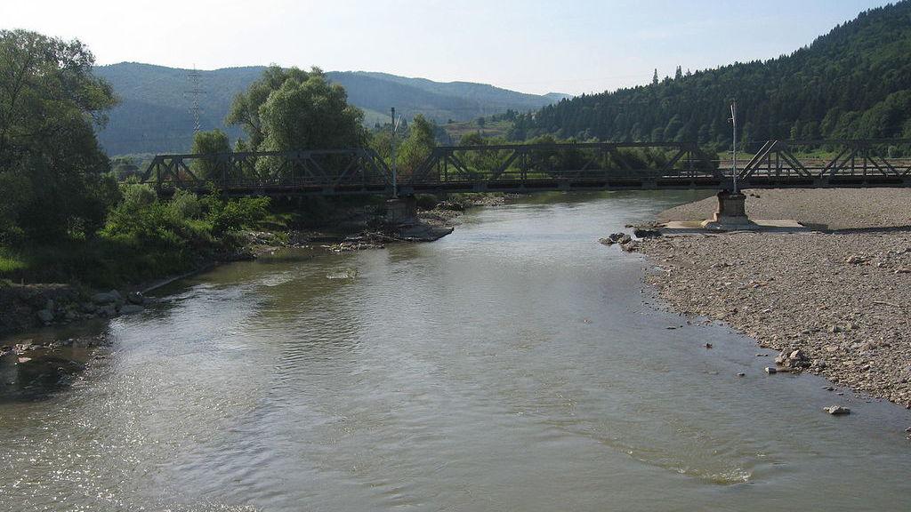 Река Молдова.