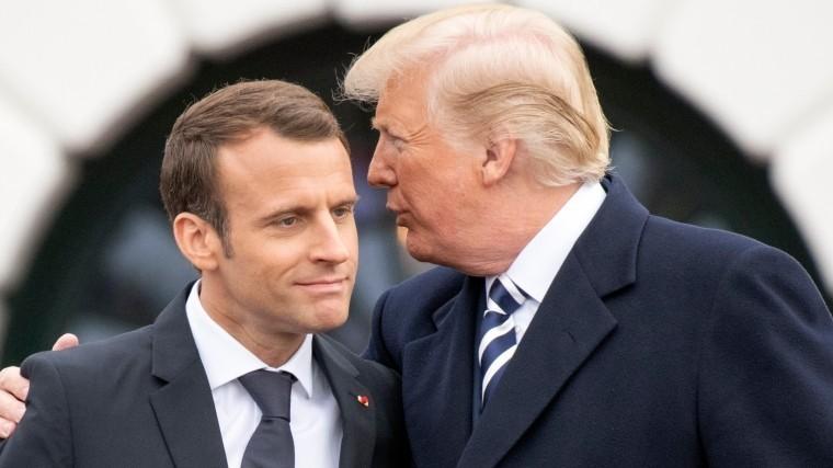 «Это оскорбительно»: Трамп озаявлении Макрона об«общеевропейской армии»