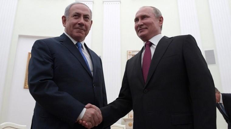 Владимир Путин провел телефонные переговоры сБиньямином Нетаньяху