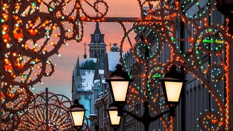 Названы города России изарубежья спо-настоящему новогодней атмосферой