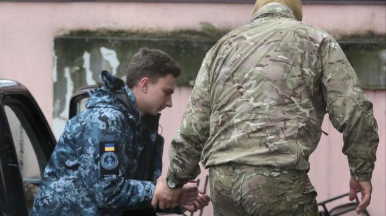ФСБ: задержанные украинские моряки неявляются военнопленными