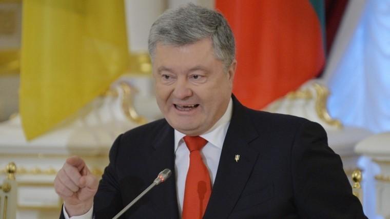 Порошенко призвал Европу иСША закрыть морские порты для России