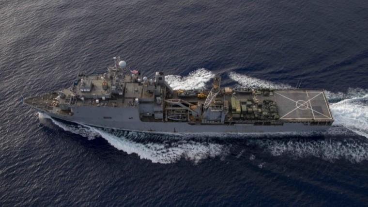 Десантный корабль ВМС США Fort McHenry направился вЧерное море