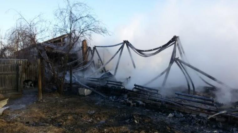 ВЗабайкальском крае сгорел многоквартирный дом