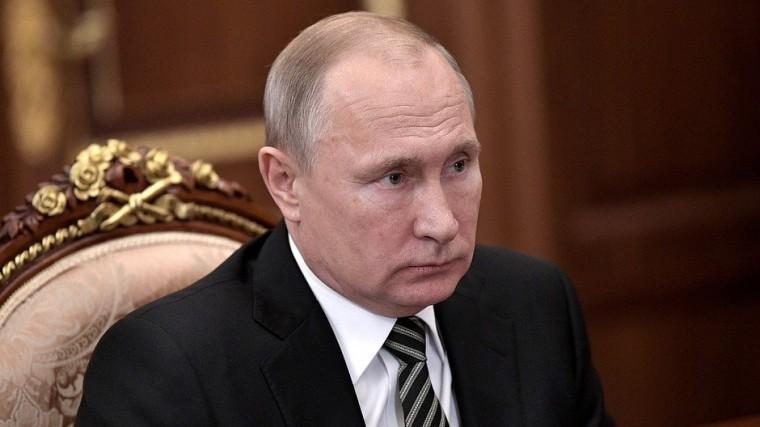 Владимир Путин поздравил Никола Пашиняна сназначением напост премьера Армении