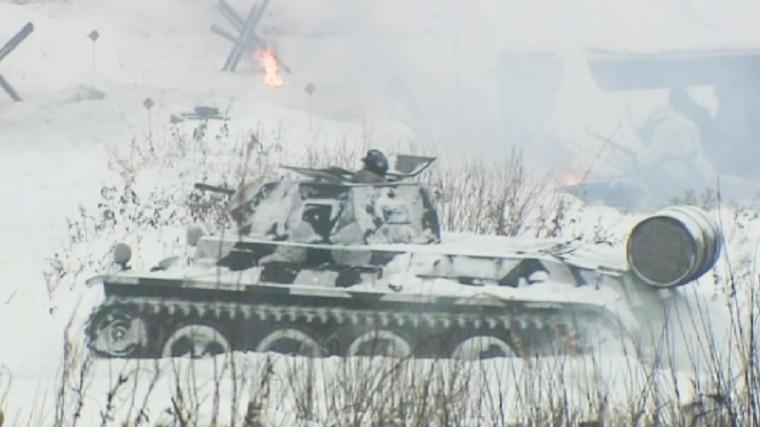 Военно-исторический фестиваль Вполосе прорыва проходит вЛенобласти