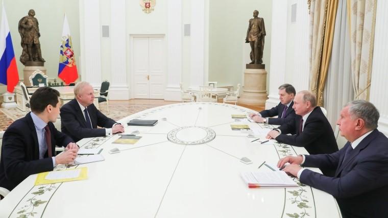 Путин обсудил сглавой BP перспективы дальнейшего сотрудничества