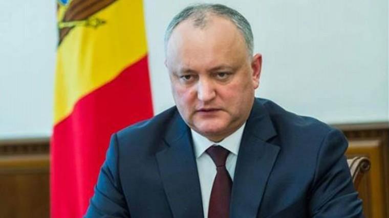 Президент Молдавии отказался отзывать посла изРоссии
