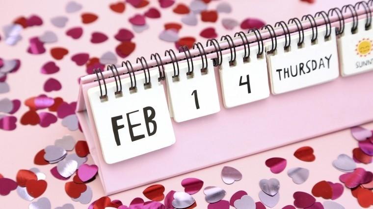 Любовь вразных формах: Google посвятил главную страницу Дню святого Валентина