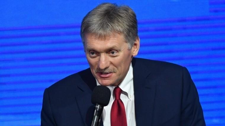 Русофобия ирэкет: Песков прокомментировал новые санкции США