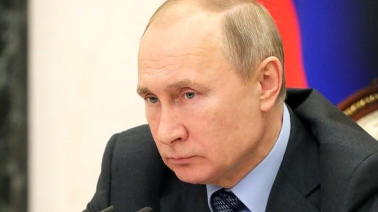 Путин предложил ввести отдельную статью для организаторов преступных сообществ