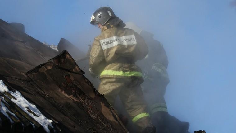 Двое малышей погибли при пожаре вКрасноярском крае