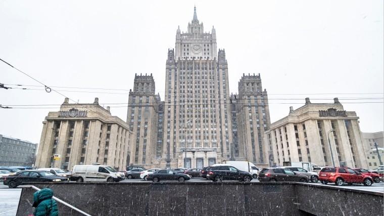 МИД РФ: Россия неоставит санкции ЕСпротив России без ответа