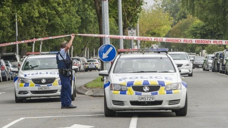 Полиция: Трое задержанных непричастны кстрельбе вмечетях Крайстчерча