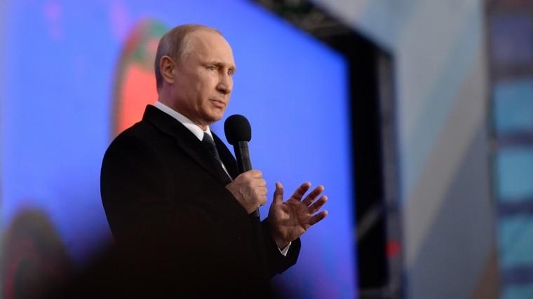 Владимир Путин посетит Крым вгодовщину подписания указа овоссоединении