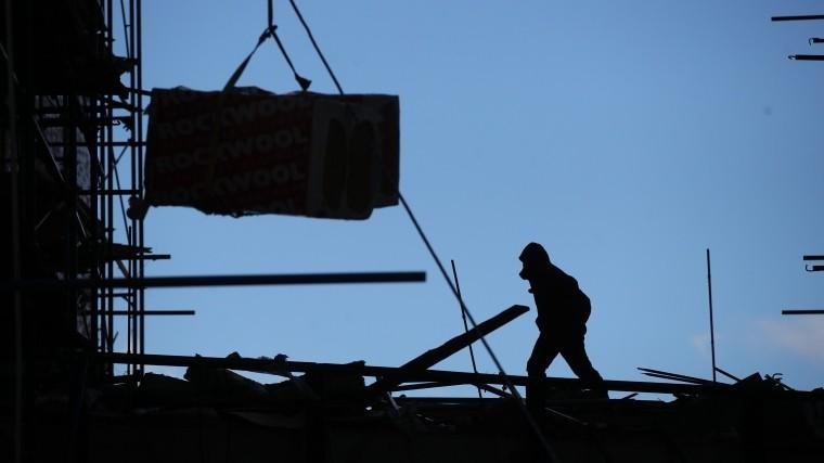 Рабочий погиб врезультате обрушения настройке вПетербурге