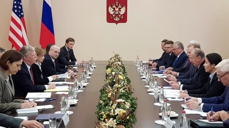 Советы безопасности РФиСША провели совместные консультации вМоскве