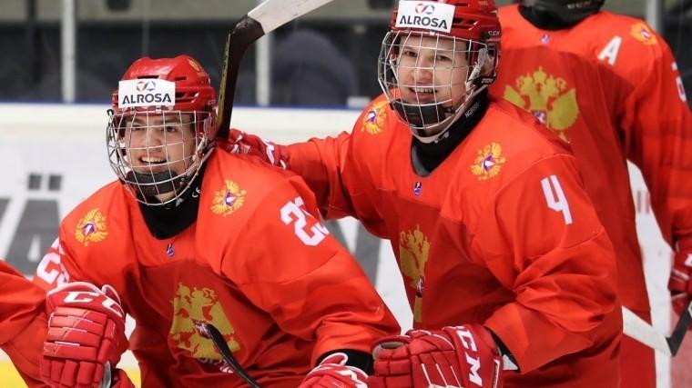 Юниорская сборная России похоккею впервые задесять лет вышла вфинал ЧМ
