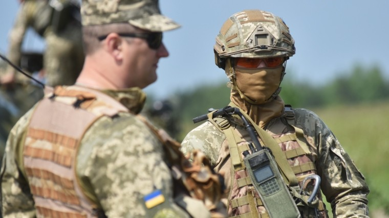 Американские военные прибыли для подготовки бойцов ВСУ