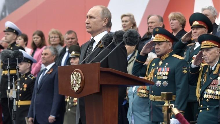 Владимир Путин поздравил жителей Крыма иСевастополя сДнем Победы