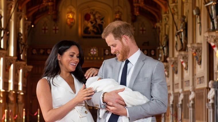 Свидетельство орождении сына принца Гарри иМеган Маркл опубликовано всети