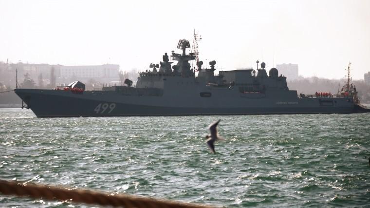 Корабли Черноморского флота вышли вморе для учений
