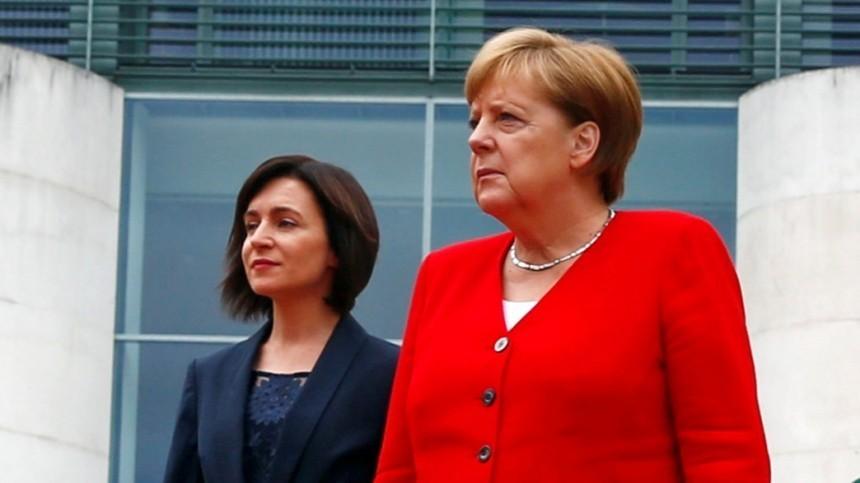 Первые заявления Майи Санду после встречи с Ангелой Меркель