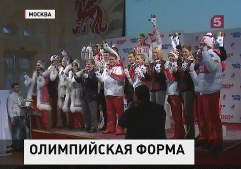 В Москве представили  олимпийскую форму Сочи 2014