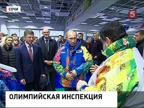 Владимир Путин увидел фрагмент церемонии открытия сочинской Олимпиады