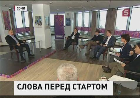Предолимпийское интервью Владимира Путина вышло за рамки спорта