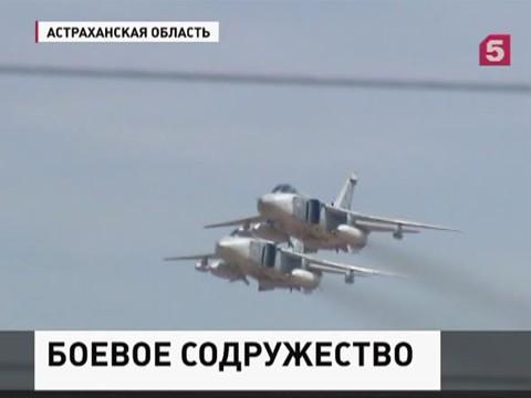 В Астраханской области прошёл заключительный этап учений «Боевое содружество»