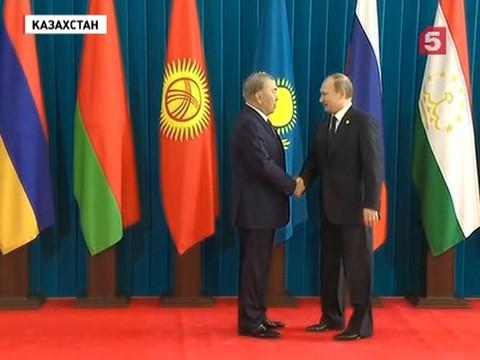 Владимир Путин примет участие в заседании Совета глав государств СНГ в Астане