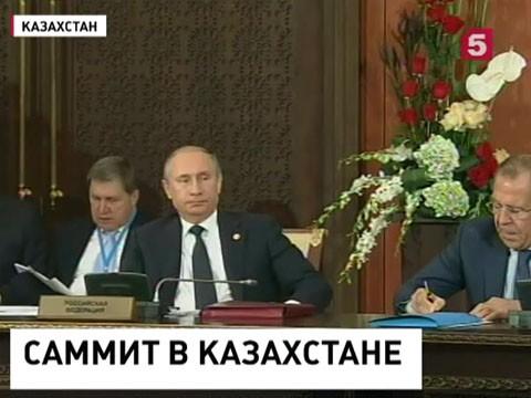 На саммите СНГ в Астане подписано 16 документов