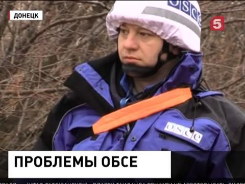 Лукашевич назвал неконструктивной работу ОБСЕ