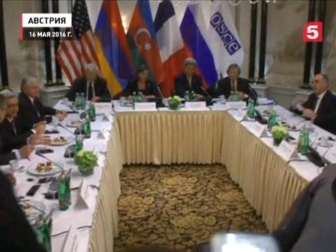 Президенты Армении и Азербайджана провели переговоры при посредничестве России, США и Франции